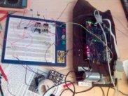 Robot with Altera Nios2 FPGA board